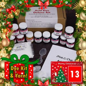 DT Craft & Design - 20 Days of Christmas Countdown - Day 13 - Acid dye deluxe kit