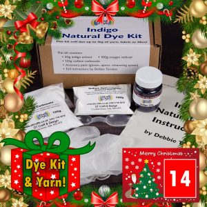 DT Craft and Design - 20 Days of Christmas Countdown - Indigo dye kit
