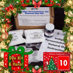 DT Craft & Design 20 Days of Christmas Countdown - Day 10 - Indigo fermentation kit