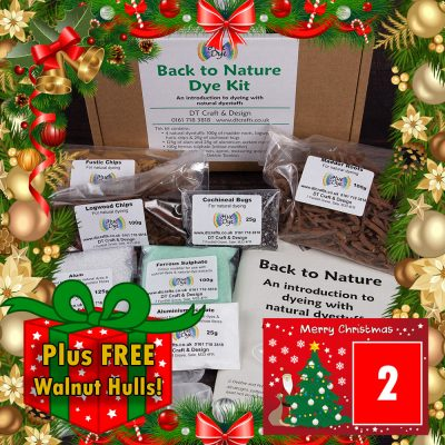 DT Craft & Design - 20 Days of Christmas countdown - Back to Nature natural dyestuffs kit