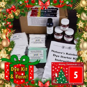 DT Craft & Design 20 Days of Christmas Countdown - day 5 natures rainbow natural dye kit