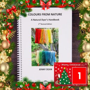 DT Craft & Design - book colours from nature by jenny dean christmas countdown