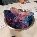 Natural dyeing samples 4