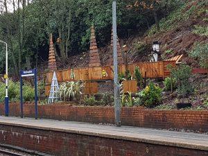 Westhoughton rail station Bolton