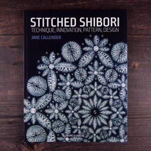 Stitched shibori by Jane Callender