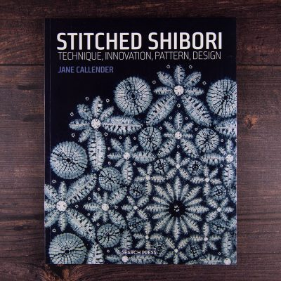 Stitched shibori by Jane Callender