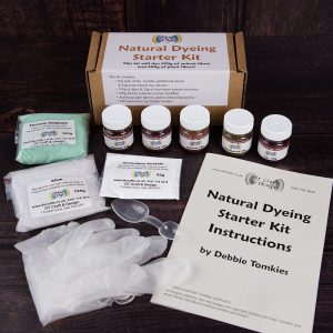 natural dye starter kit DT Craft and Design - Hue and Dye