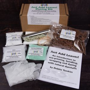 DT Craft and Design - Hue and Dye Just Add Leaves! Natural Dye Kit