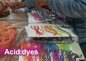 DT Craft and Design - hue and dye acid dyes and acid dye kits