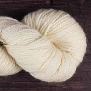 DT Craft and Design - 100% Bluefaced Leicester aran wool undyed yarn 100g