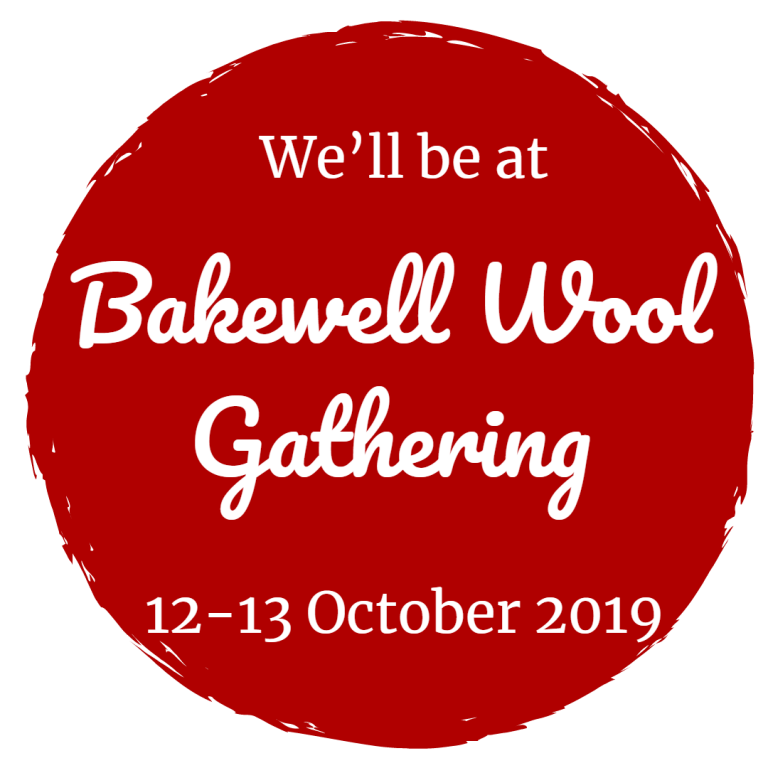 DT Craft and Design will be at Bakewell Wool gathering 2019 on 12th and 13th october on stall 16