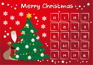 dt craft & design 20 days of christmas advent countdown promotion calendar