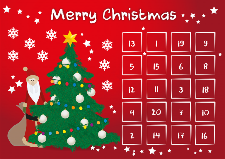 dt craft & design 20 days of christmas advent countdown promotion calendar