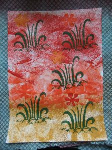 DT Craft and Design - 20 Days of Christmas Countdown - Day 18 - Handmade wooden blockprinting stamps