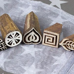 DT Craft & Design - Handmade wooden blockprinting stamps