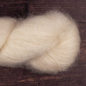 YA209 72% kid mohair 28% silk laceweight undyed yarn