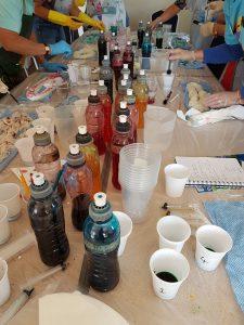 hand-dyeing workshop