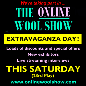 online wool show extravaganza day with promo link