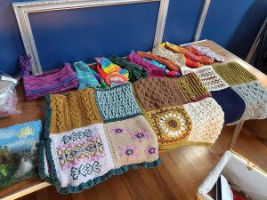 knit now kal blankets