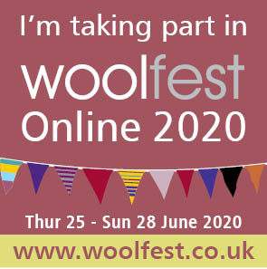 we are at woolfest online 2020