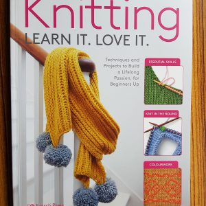 debbie tomkies book - knitting - learn it. love it.