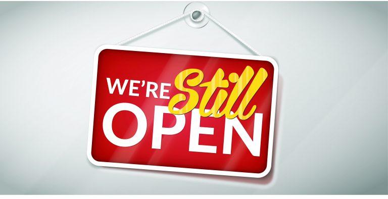 covid still open