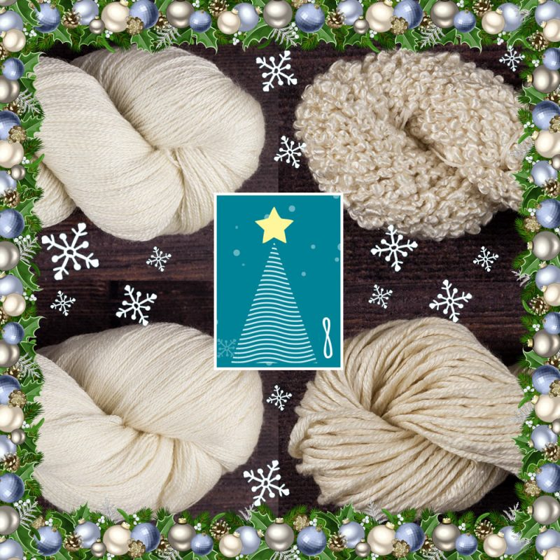 DT Craft and Design Countdown to Christmas - silk yarn collection