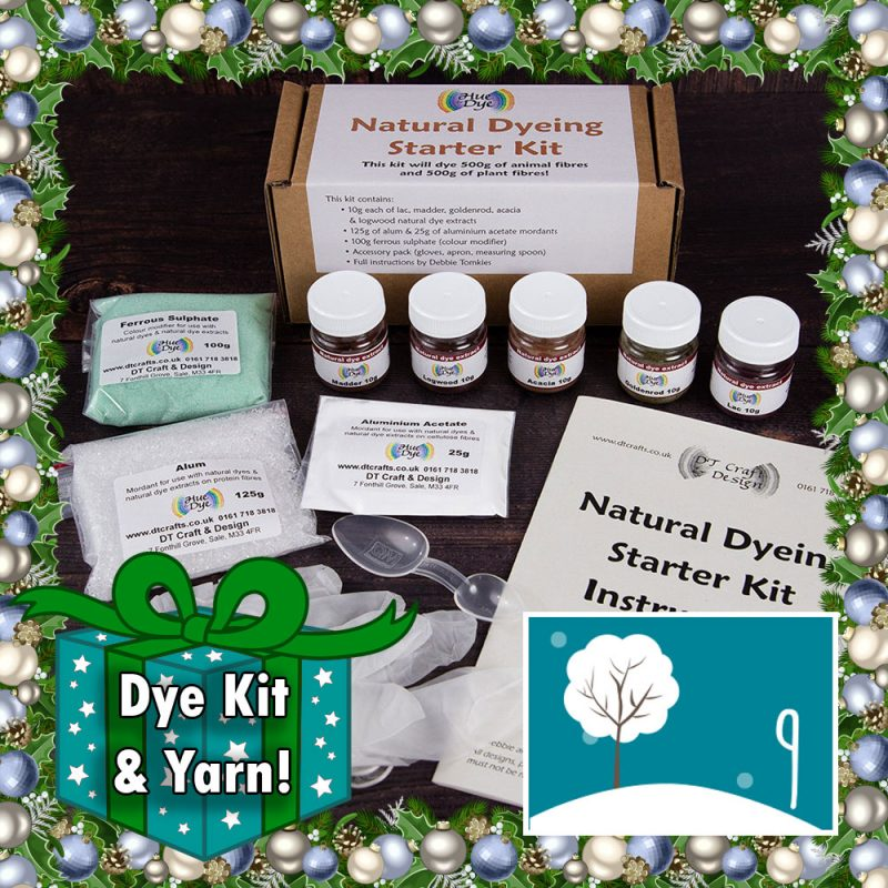DT Craft and Design Christmas Countdown - Natural dye starter kit