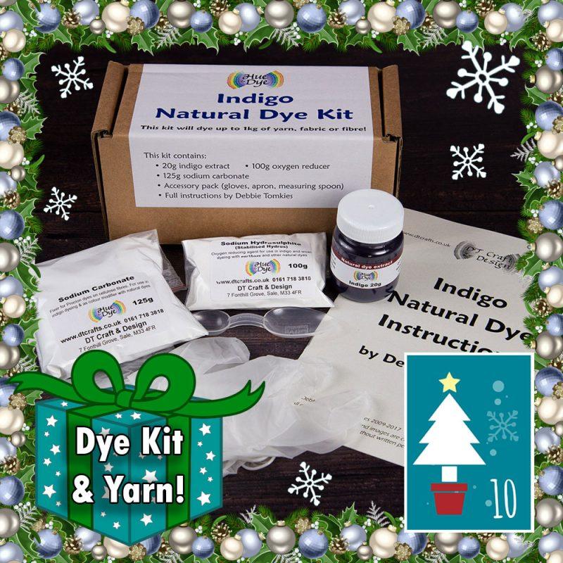 DT Craft and Design Christmas Countdown - Indigo dye kit