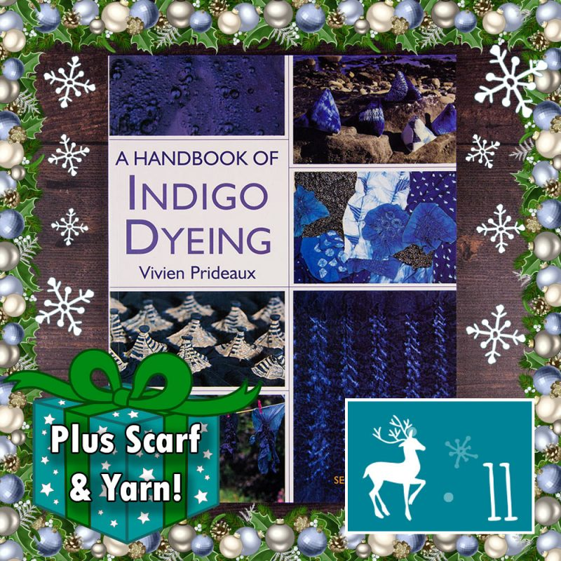 DT Craft and Design Countdown to Christmas - Indigo Dyeing by Vivien Prideaux