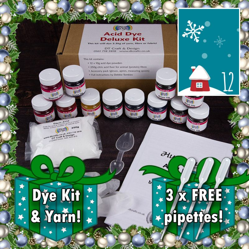 DT Craft and Design - Christmas Countdown Acid dye deluxe kit