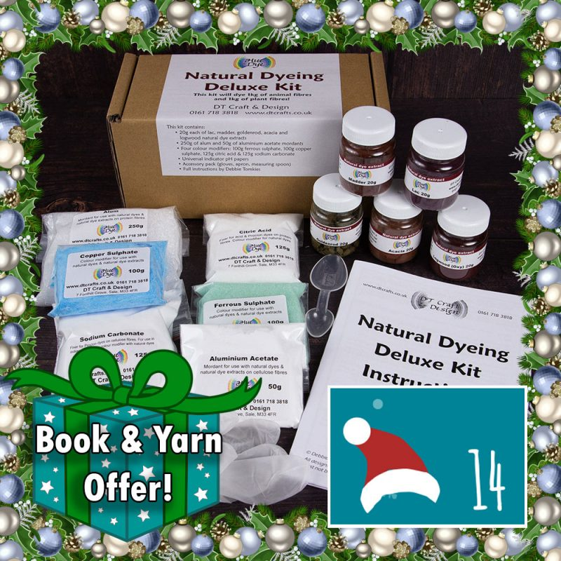 DT Craft and Design Christmas Countdown - Deluxe Natural Dye Kit