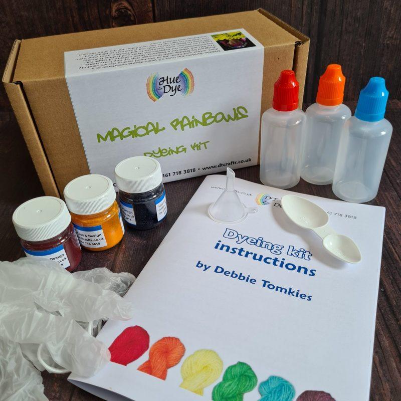 magical rainbows dyeing kit