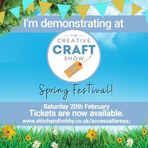 creative craft show demonstrator
