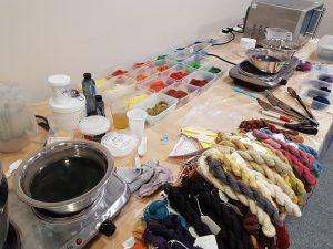 Natural dyeing workshop with Debbie Tomkies