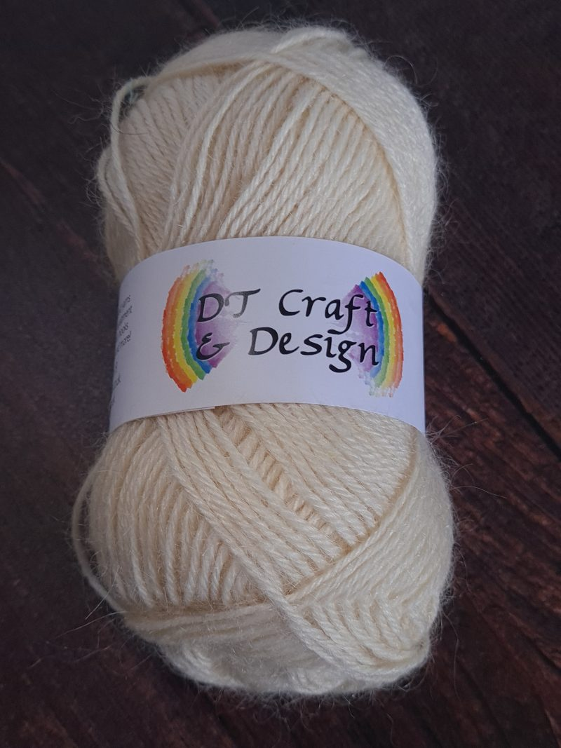 DT Craft and Design undyed yarn mohair dk