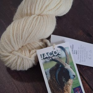 DT Craft and Design undyed yarn west yorkshire spinners jacobs aran white