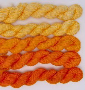 DT Craft & Design procion fibre reactive dye golden yellow